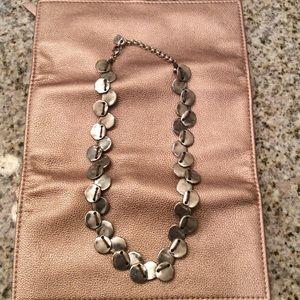 Uno de 50 Silver Metal Necklace